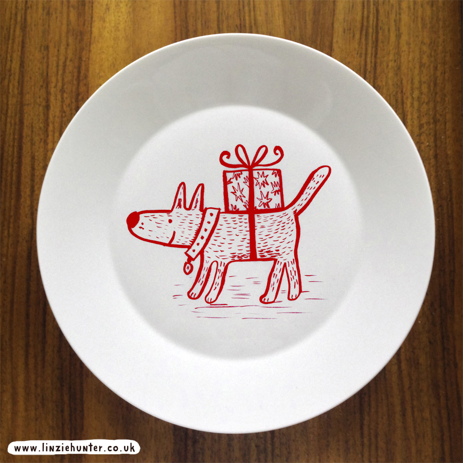 dog plate 72